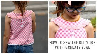 HOW TO SEW A TOP WITH