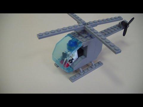 Как сделать из лего вертолет военный своими руками