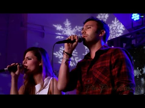 7EAST (Pia Toscano & Jared Lee) Perform at 3rd Annual Tube-A-Thon 12/11/14