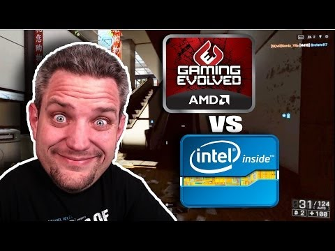 AMD vs Intel For Gaming PC 2014 Edition - Battlefield 4 Commentary