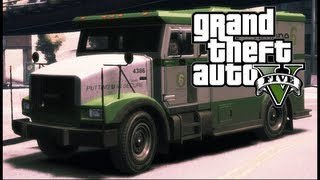 GTA 5: Bank Truck Robbery [How to Get into a Bank Truck]