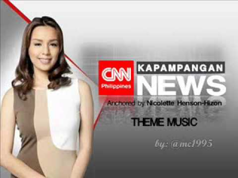 THEME MUSIC - CNN Philippines Kapampangan News [March 16, 2015-Present]