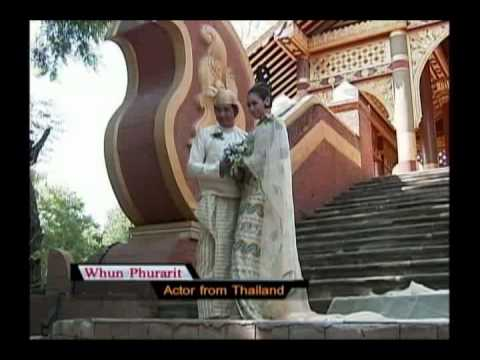 Myanmar Triditional Wedding Dress - 2013 Calendar From Mrtv4 video
