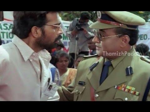 Kolai Kutram Movie Scenes - Police Helping Jd Chakravarthy To Kill Jayasudha - Meena video