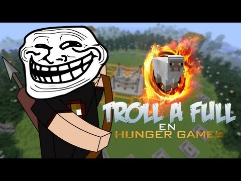 Minecraft PC: Hunger Games Troll Mode ON!!