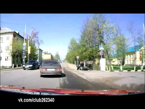 Эпичный водитель! :-)