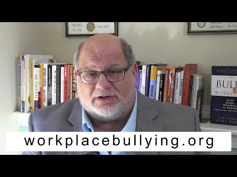 The Four Workplace Bully Types