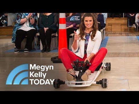 Trailblazing Driver Danica Patrick And Megyn Kelly Race In Go-Karts | Megyn Kelly TODAY