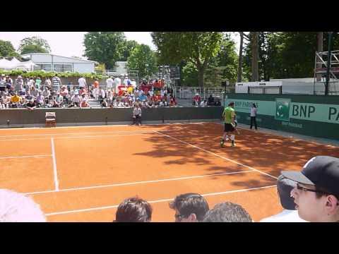 Roland Garros Partido 1e ronda Granollers 28 05 2012