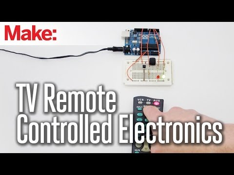 DIY Hacks & How To's: TV Remote Controlled Electronics