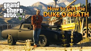 GTA 5 - How to Get the Imponte Duke O'Death (PC, PS4 & Xbox One)