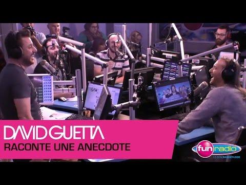 David Guetta nous raconte une anedocte sur le studio d'enregistrement