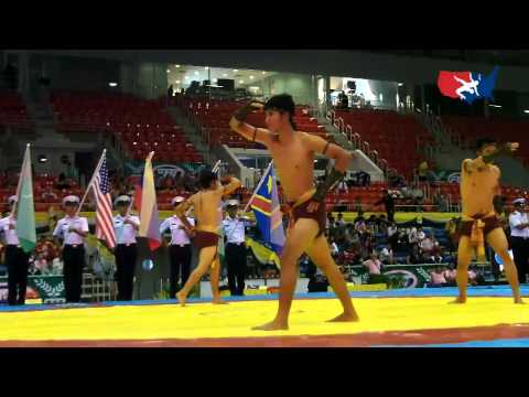 2012 Junior Worlds - Thai Boxing Presentation