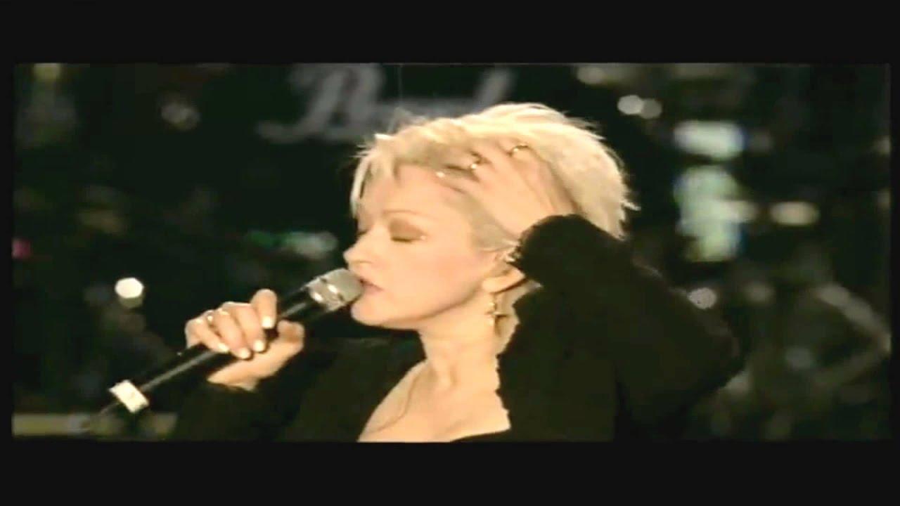 Cyndi Lauper Drove All Night Live Cyndi Lauper i Drove All