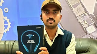 Samsung Uflex Wireless Bluetooth Headphones || Unboxing