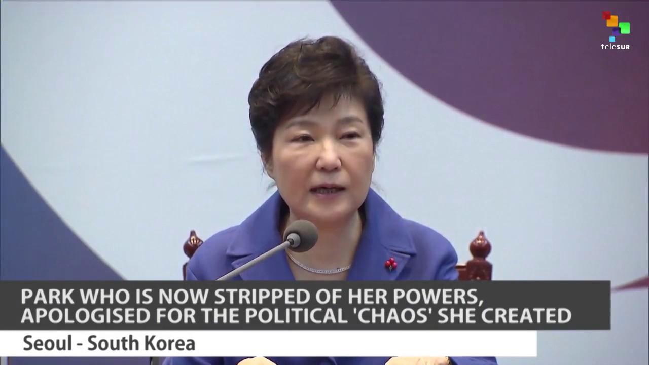 South Koreans Celebrate President's Impeachment