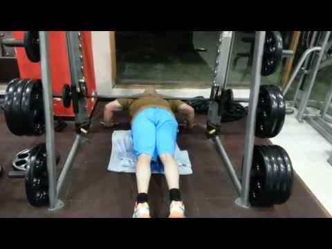 Smith Machine Weights Smith Machine Weighted Push