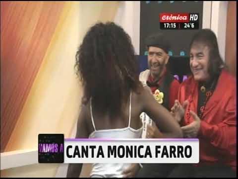 Canta Mónica Farro en Vamos a Pasarla Bien