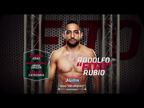 "The Ultimate Fighter Latin America: Rodolfo ""Fito"" Rubio"