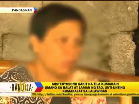 Mysterious illness in Pangasinan Philippines