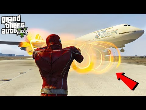 THE FLASH v2 W/ TORNADO HANDS - GTA 5 Mods thumbnail