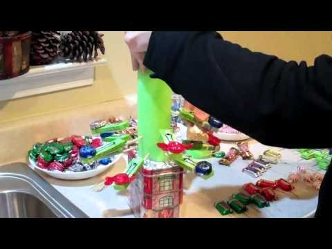 Candy Tree How To Christmas Boquet