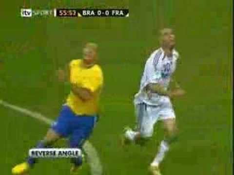 Zidane vs Brazil - WC 06 QF