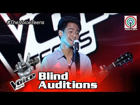 The Voice Teens Philippines Blind Audition: Patrick Corporal - Fly Me To The Moon