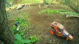 RC Buggy Hill Climb real engine sound