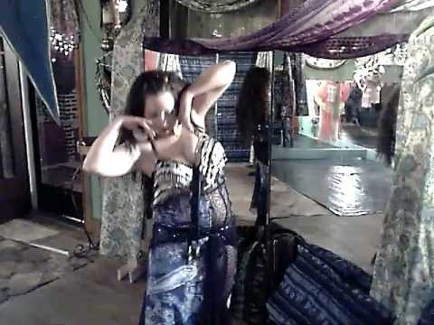 hot sexy modern techno belly dance goddess kashmir1-937-760-...