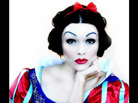 SNOW WHITE Disney Princess TUTORIAL