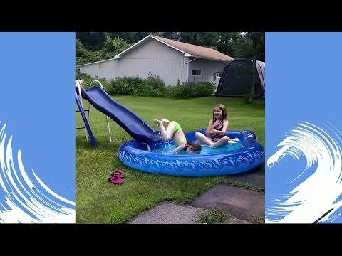 video youtube lucu bikin ketawa ketika anak kecil berenang