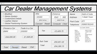 How to Create Car Dealer Management Systems in Visual Basic.Net - Full Tutorial
