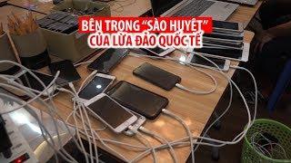 Sào huyệt của nhóm người Trung Quốc lừa đảo qua điện thoại ở Sài Gòn