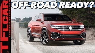 Will The All New 2020 VW Atlas Cross Sport Be Off-Road Worthy?