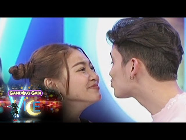 GGV: James Reid and Nadine Lustre kiss