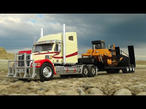 RC ADVENTURES - Knight Hauler, 1/14th Scale RC Tractor Truck & Trailer, Radio Controlled