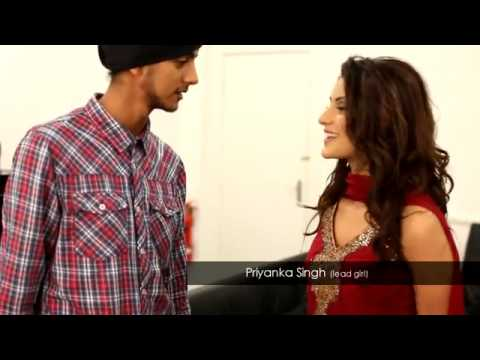 Arminder Nahal feat. Lucky Sidhu - Gussa Making The Video