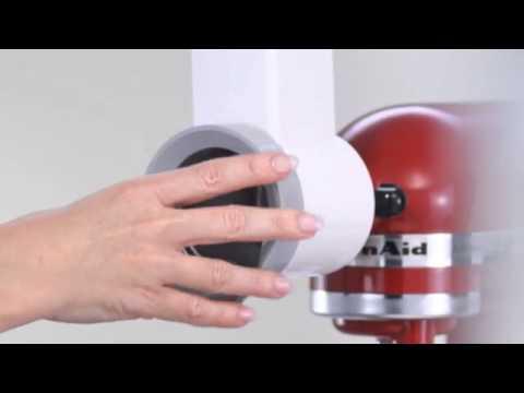kitchen aid slicer 5mvsa accessoires keukenrobot accessoires robot de cuisine product video. Black Bedroom Furniture Sets. Home Design Ideas