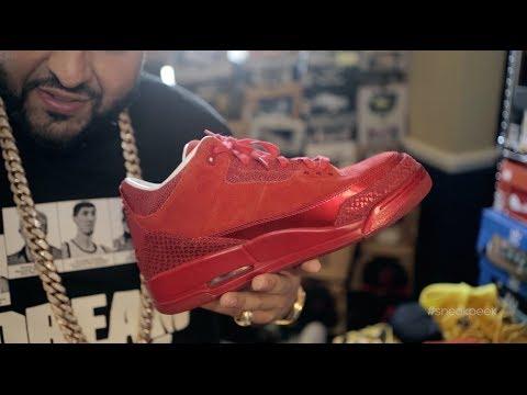 A sneak Peek Inside Dj Khaled's Sneaker Room video
