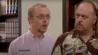 Manny Come Home | Black Books | Series 3 Episode 1 | Dead Parrot