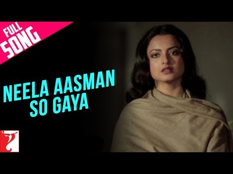 Neela Aasman So Gaya (Female) - Song - Silsila