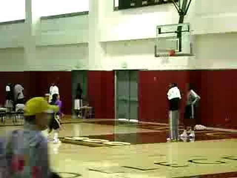 Candace Parker practing more free throws at a practice Video