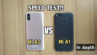 XIAOMI MI A2 VS MI A1 - SPEED TEST!!