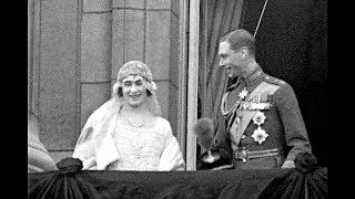 The Queen Mother's wedding, 1923