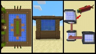10 Minecraft Aquarium Designs!