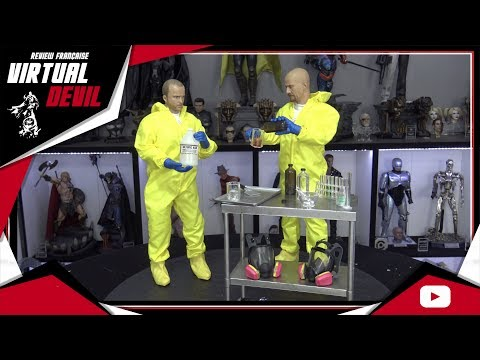 THREEZERO - HEISENBERG & JESSE PINKMAN - HAZMAT SUIT -  BREAKING BAD - REVIEW FRANCAISE FRENCH