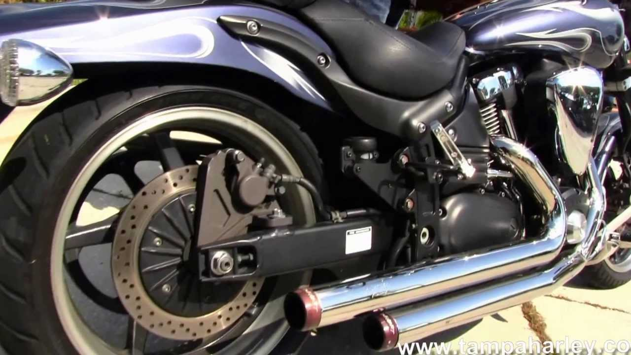 Yamaha For Sale Florida >> Used 2007 Yamaha Road Star Warrior with Rinehart Exhaust Motorcycles for sale - YouTube