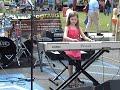 Sierra Woods on piano