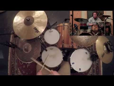 Some groove from resident session drummer Brody Simpson @ Underground Recording Studios
